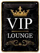 Nostalgic Art VIP Lounge Metal Kabartmalı Duvar Panosu 26123