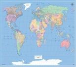 Dünya Haritası Siyasi