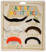 NPW Artist's Moustaches / Bıyıklar Artistler Parti Aksesuarı W8098