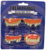 NPW Freaky Fangs / Seyrek Dişler Parti Aksesuarı W7305
