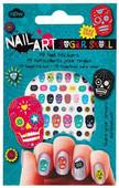 NPW Sugar Skull Nail Stickers / Kurukafa Tırnak Stickerları NP12026
