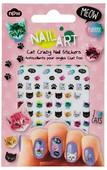 NPW Nail Art Stickers Cat Crazy / Kediler Tırnak Süsleme Stickerları NP9293