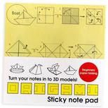 Suck Uk Origami Sticky Notepad /Origami Notluk