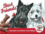 Nostalgic Art Best Friends Magnet 6x8 cm 14243