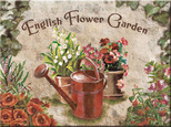 Nostalgic Art English Flower Garden Red Can Magnet 6x8 cm 14265