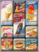 Nostalgic Art American Dinner Magnet Set (9 parça) 83069