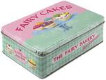 Nostalgic Art Fairy  Cakes - Fresh Everyday Yatay Teneke Saklama Kutusu 30708