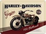 Nostalgic Art Harley Davidson Metal Kabartmalı Pin Up Duvar Panosu (15x20 cm) 26135