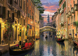 Clementoni 1000 Parça Puzzle Romantik İtalya - Venezia 39218.6