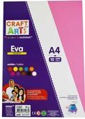 Craft And Arts Eva A4 Yapışkanlı 10'Lu