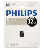 Philips FM32MD45B/97 32 GB Class10 Micro SD Kart Bellek 13382