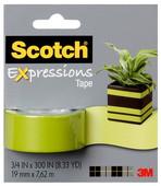 Scotch  Renkli Bant Yeşil C214-Grn