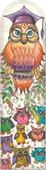 Galeri Alfa 2040102 Bilge Baykuş - Baykuş Serisi Kitap Ayracı