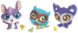 Littlest Pet Shop Figürler Tekli Miniş A8228