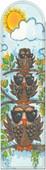 Galeri Alfa 2040107 Jön Kuşlar - Baykuş Serisi Kitap Ayracı