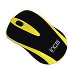 Inca IWM-221RSS 2.4 Ghz Inca-Track Red Sensör Wireless Nano Alıcılı Mouse - Sarı