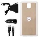 Mountr Air Set Samsung Galaxy Note 3 Araç İçi Tutucu Gold - SK-AVM-N3A