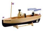 Wilesco Buhar Motorlu African Queen Tekne