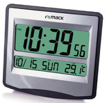 Mack MCT-9115 GR Metalik Gri Dijital Saat