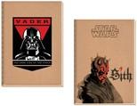 Star Wars 40 Yaprak Düz İp Dikişli Kraft Kapak Defter 410240-07