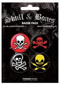 Pyramid International Rozet Seti - Skull & Crossbones