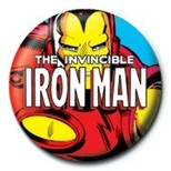 Pyramid International Rozet - Marvel Iron man