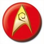 Pyramid International Rozet - Star Trek - Insignia -Red