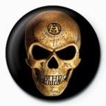 Pyramid International Rozet - Alchemy - Omega Skull