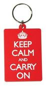 Pyramid International Keep Calm And Carry On Soft 3D Anahtarlık