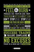 Pyramid International Maxi Poster - Gym Motivational