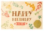 Gk İstanbul Kartpostal Happy Birthday2