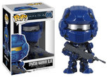 Funko Spartan Warrior POP Halo 4 Blue/Red