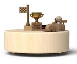 Wooderfull Life Yarışçı Köpek Müzik Kutusu 3210