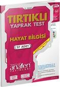Anafen 3. Sınıf Hayat Bilgisi Tırtıklı Yaprak Test (27 Yaprak)