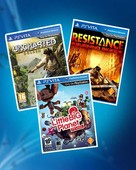 PS Vita / Uncharted: Golden Abyss + Resistance: Burning Skies + Little Big Planet