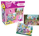 Kırkpabuç My Little Pony 2 Pony Puzzle 60-90 Parça 6806