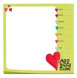 Legami Mousepad All I Need Is Love