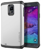 Verus Galaxy Note4 Damda Veil Series Light Silver