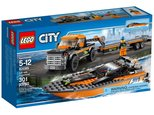 Lego City Great Vehicles 4X4 W/ Powerboat 60085