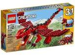 Lego Lego Creator Red Creatures 31032