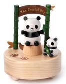 Wooderfull Life Mutlu Panda Müzik Kutusu 1036103
