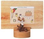 Wooderfull Life Ayıcık ve Pastası Resim Çerçevesi 1099802