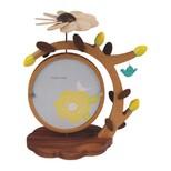 Wooderfull Life Kuşlar ve Çiçekler Resim Çerçevesi 1098902