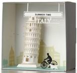 Wooderfull Life İtalya Pizza Kulesi 3D Kendin Yap Kağıt Maket 9025102