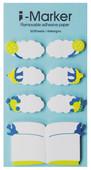 Coccomell i-Marker Sticky Note Kuş Kelebek Çiçek 9309806