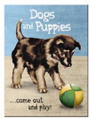 N.Art.Magnet Dogs and Puppies, N/A