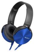 Sony Mikrofonlu Kulak Üstü Kulaklık MDRXB450APL.CE7 Mavi