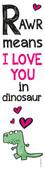 Legami Dinosaur Kitap Ayracı Se0091