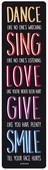 Legami Dance Sing Love Kitap Ayracı