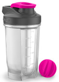 Contigo Shake&Go Fit Protein Shaker 590 ml Neon/Pink-Neon Pembe 1000-0388